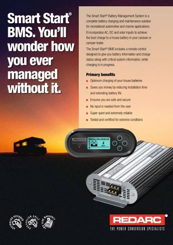 The Smart Start® Battery Management System - Rainbow Power ...