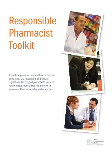Responsible Pharmacist Toolkit - Royal Pharmaceutical Society