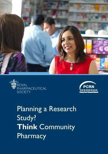 Think Community Pharmacy - Royal Pharmaceutical Society