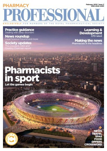 Pharmacists in sport - Royal Pharmaceutical Society