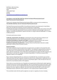 Consultation on the draft 2011-2012 fees rules for the General ...