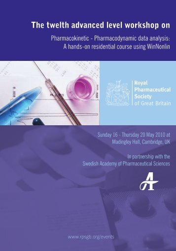 Pharmacodynamic data analysis - Royal Pharmaceutical Society