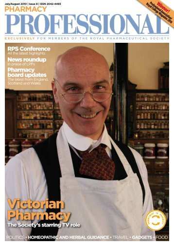 victorian Pharmacy - Royal Pharmaceutical Society