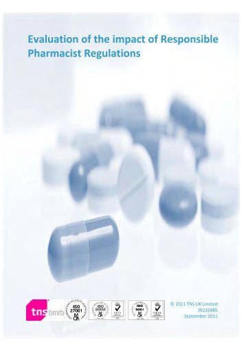 Evaluation of the impact of Responsible Pharmacist Regulations