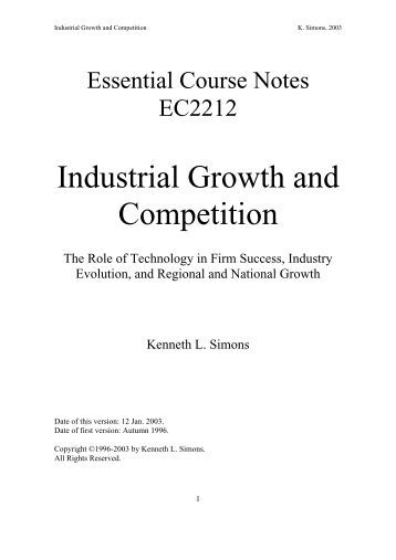 the growing competition in the business industry Definition of competition: economics: rivalry in which every seller tries to get  what other sellers are seeking at the  competition and maintaining growth   take the steel industry, which relies on a handful of companies for its iron  feedstock.