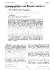 Low temperature deposition of nanocrystalline silicon carbide films ...
