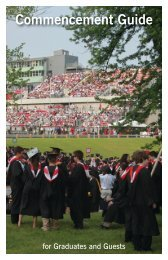 Commencement Guide - Rensselaer Polytechnic Institute
