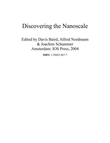 Discovering the Nanoscale