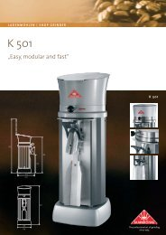 Produktblatt K501_RZ - Mahlkönig