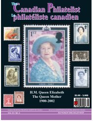 TCP July/Aug pages - The Royal Philatelic Society of Canada