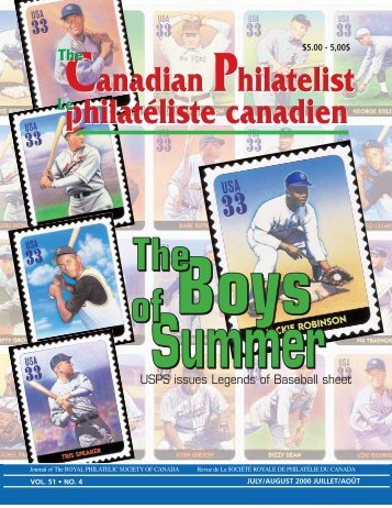 Phil pages July-Aug-Final - The Royal Philatelic Society of Canada