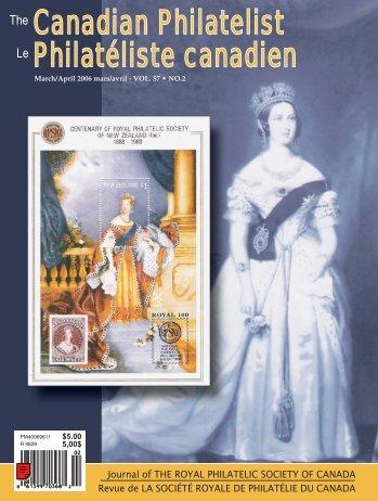 Canadian Philatelist Philatéliste canadien - The Royal Philatelic ...