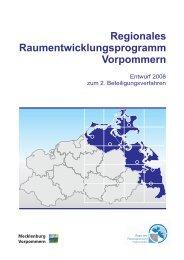 Regionales Raumentwicklungsprogramm Vorpommern - Regionaler ...