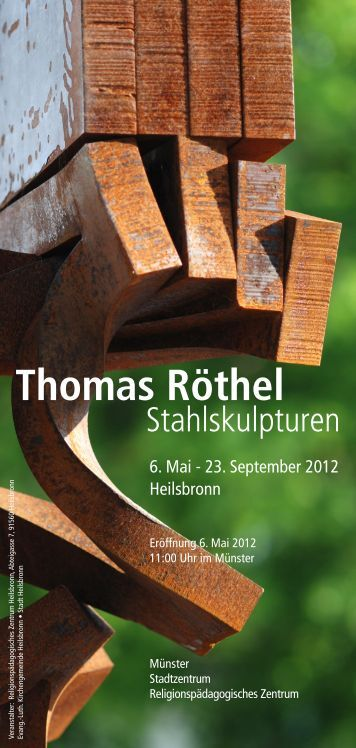 Flyer zur Ausstellung - RPZ Heilsbronn