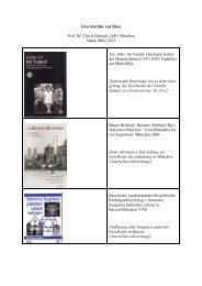 Kommentierte Literaturliste zur Shoa - RPZ Heilsbronn