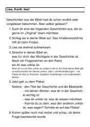 Kopiervorlagen - RPZ Heilsbronn
