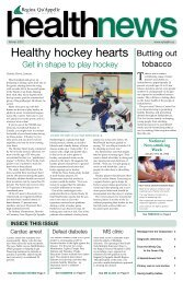Winter 2003 - Regina Qu'Appelle Health Region