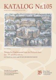Umbruch Kat. 105 - Antiquariat Bierl, Bücher, Stiche, Kunst