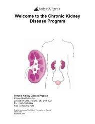Welcome to the Chronic Kidney Disease Program