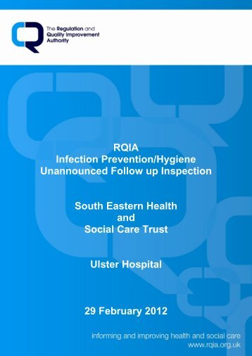 Ulster Hospital - Regulation and Quality Improvement Authority