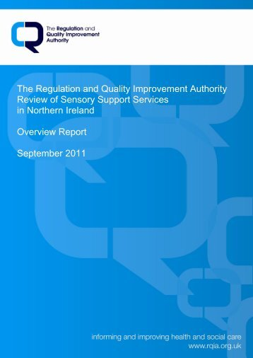 Review of Sensory Support Services in Northern Ireland