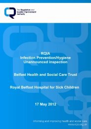 Royal Belfast Hospital for Sick Children, Belfast - 17 May 2012