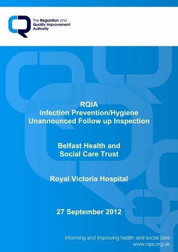 Royal Victoria Hospital, Belfast - 27 September 2012