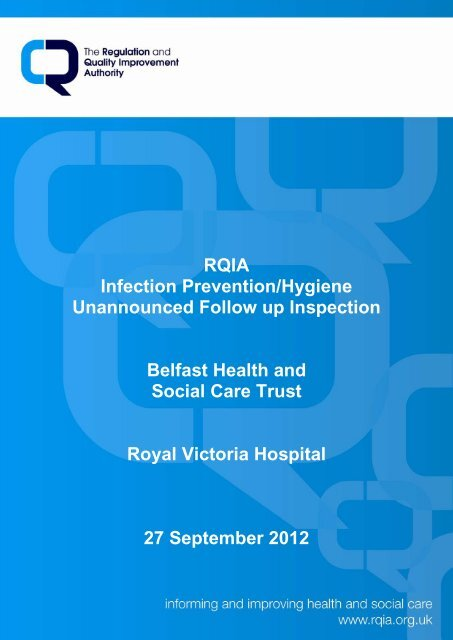 Royal Victoria Hospital, Belfast - 27 September 2012