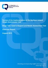 Review of the Implementation of the Northern Ireland Single ...