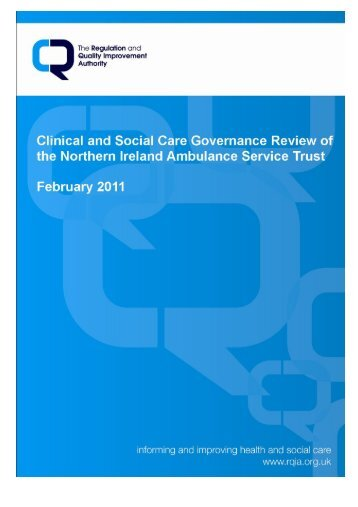 view resource - Regulation and Quality Improvement Authority