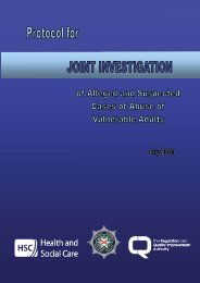 Vulnerable Adults - Protocol for Joint Investigation of Alleged and ...