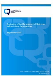 here - Regulation and Quality Improvement Authority