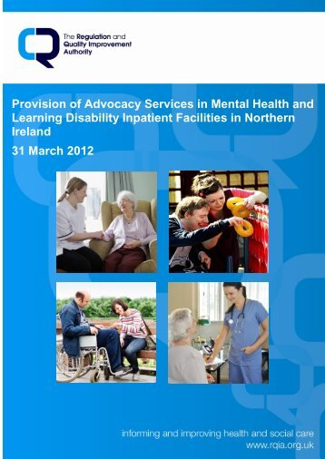 Provision of Advocacy Services in Mental Health and Learning ...