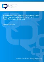 Three Year Review Programme Consultation Guidance Document ...