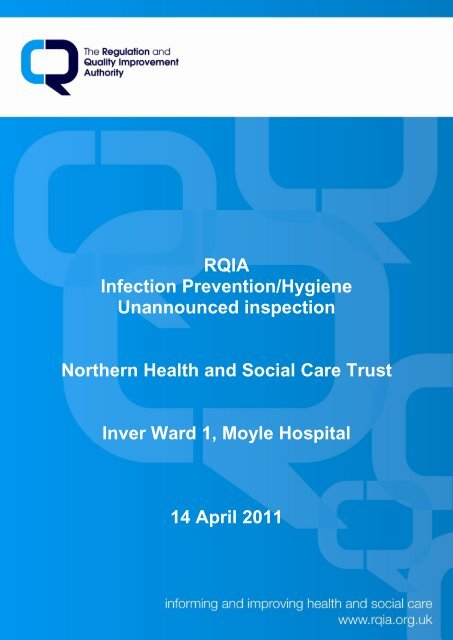 Moyle Hospital, Larne - 14 April 2011 - Regulation and Quality ...