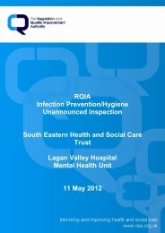 Lagan Valley Hospital Mental Health Unit, Lisburn - 11 May 2012