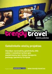 Išteklių paketas: Geležinkelio stočių projektas - Trendy Travel