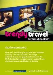 Stationsontwerp - Trendy Travel