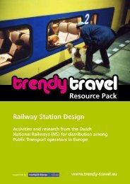 Resource Pack: Railway Station Design - Eltis