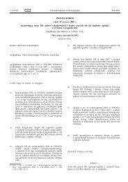 DECYZJA KOMISJI z dnia 29 czerwca 2007 r ... - EUR-Lex