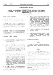 DYREKTYWA KOMISJI 2006/72/WE z dnia 18 sierpnia ... - EUR-Lex