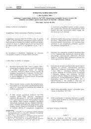 DYREKTYWA KOMISJI 2006/129/WE z dnia 8 grudnia ... - EUR-Lex