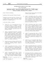 ROZPORZĄDZENIE KOMISJI (WE) NR 1077/2008 z dnia 3 ...