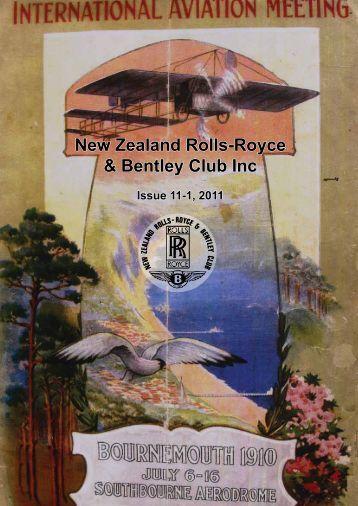 New Zealand Rolls-Royce & Bentley Club Inc - The Enthusiasts ...