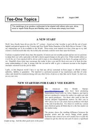 Tee-One Topics - Rolls-Royce Owners' Club of Australia (Victoria ...