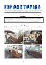 Edition 5 - August 2001 - Rolls-Royce Owners' Club of Australia ...