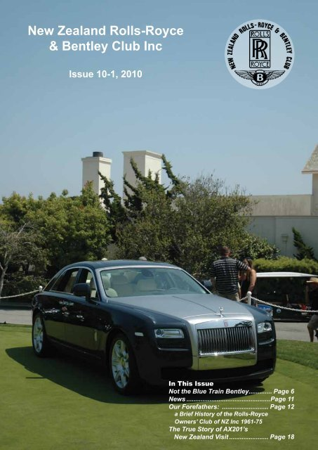 New Zealand Rolls Royce Bentley Club Inc Kda132