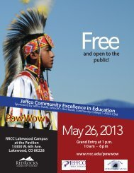 May 26, 2013 - Red Rocks Community College