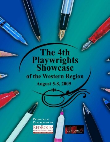 The 4th Playwrights Showcase - Red Rocks Community College
