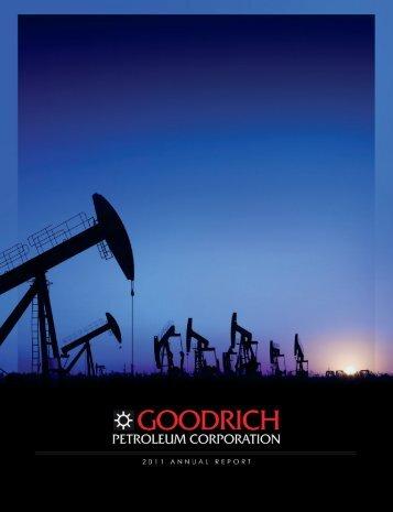 goodrich petroleum corporation - RR DONNELLEY FINANCIAL